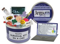 General Birthday Survival Kit In A Can